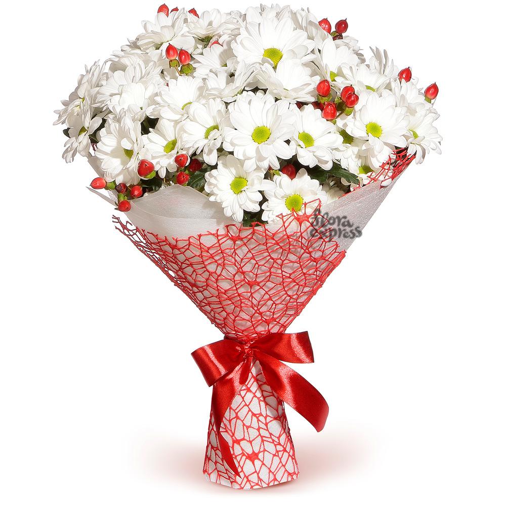 Букет «Flora Express», Простая романтика
