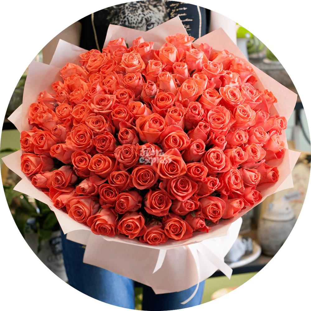 Букет «Flora Express» Букет роз «Вау» фото